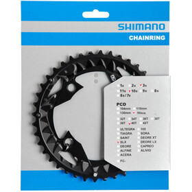 Shimano SLX FC-M672/FC-M622 Chainring AN 96mm black